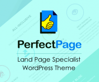PerfectPage - Land Page Specialist WordPress Theme