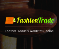 FashionTrade - Leather Products eCommerce WordPress Theme
