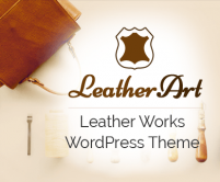 LeatherArt - Leather Works eCommerce WordPress Theme