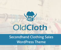 OldCloth - Secondhand Clothing Sales WordPress Theme