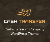 CashTransfer - Cash-In-Transit Company WordPress Theme