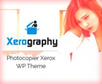 Xerography - Photocopier Xerox eCommerce WordPress Theme
