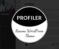 Profiler - WordPress Resume Theme