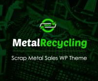 MetalRecycling - Scrap Metal Sales WordPress Theme