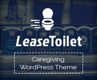 LeaseToilet - Portable ToiletWordPress theme