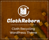 ClothReborn - Cloth Recycling WordPress Theme