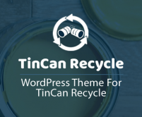 TinCan - Aluminium Can Recycling WordPress Theme