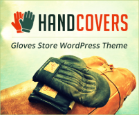 Hand Covers - Gloves Store WordPress Theme & Template