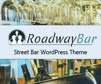 RoadwayBar - Street Bar WordPress Theme