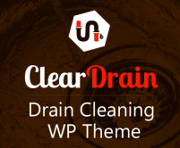 Clear Drain - Drain Cleaning WordPress Theme & Template